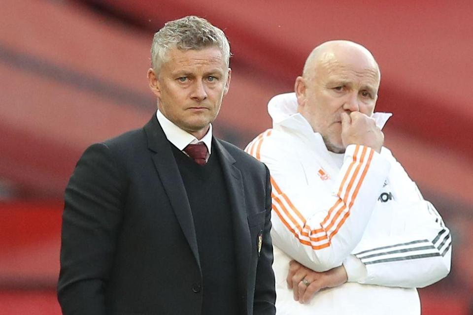 Solskjaer's side suffered defeat in their season opener (POOL/AFP via Getty Images)