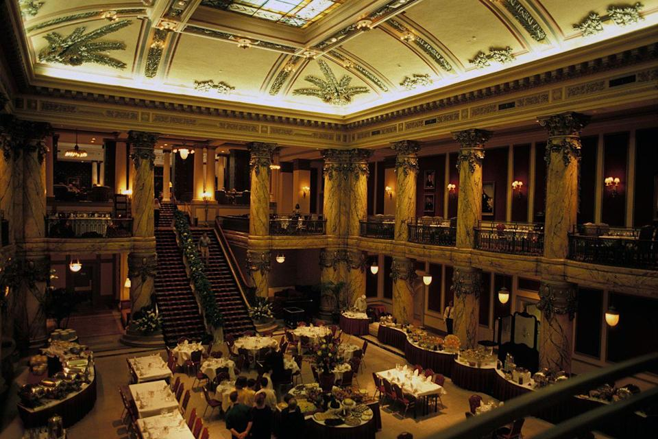 "<p>Richmond is home to this Spanish Baroque–style hotel, opened in 1895 by Lewis Ginter, who enlisted the architects that designed the New York Public Library and Henry Frick House in New York. Several U.S. presidents as well as stars like the Rolling Stones, <a href=""https://www.elledecor.com/celebrity-style/celebrity-homes/a6490/dolly-parton-house/"" rel=""nofollow noopener"" target=""_blank"" data-ylk=""slk:Dolly Parton"" class=""link rapid-noclick-resp"">Dolly Parton</a>, and <span class=""redactor-unlink"">Elvis Presley</span> have stayed here while visiting.<br></p><p><strong>EXPLORE NOW:</strong> <a href=""https://www.tripadvisor.com/Hotel_Review-g60893-d110839-Reviews-The_Jefferson_Hotel-Richmond_Virginia.html"" rel=""nofollow noopener"" target=""_blank"" data-ylk=""slk:The Jefferson Hotel"" class=""link rapid-noclick-resp"">The Jefferson Hotel</a></p>"