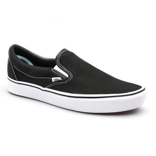 """<p><a class=""""link rapid-noclick-resp"""" href=""""https://go.redirectingat.com?id=127X1599956&url=https%3A%2F%2Fwww.vans.co.uk%2Fshop%2Fen%2Fvans-gb%2Fcomfycush-slip-on-shoes-vn0a3wmdvne%23hero%3D0&sref=https%3A%2F%2Fwww.esquire.com%2Fuk%2Fstyle%2Fg27945626%2Fmens-summer-shoes%2F"""" rel=""""nofollow noopener"""" target=""""_blank"""" data-ylk=""""slk:SHOP"""">SHOP</a></p><p><strong>Best For: </strong>Lazy boy park days</p><p>Menswear's preoccupation with the half-pipe refuses to budge. That means you should jump on with both feet.</p><p>Vans is a good place to start. Not only is a canvas construction easily washed – important, considering summer's surplus of grass stains and scuffs – but the slip-on design sits pretty above shorts and white socks and oversized T-shirts. </p><p>£57; <a href=""""https://go.redirectingat.com?id=127X1599956&url=https%3A%2F%2Fwww.vans.co.uk%2Fshop%2Fen%2Fvans-gb%2Fcomfycush-slip-on-shoes-vn0a3wmdvne%23hero%3D0&sref=https%3A%2F%2Fwww.esquire.com%2Fuk%2Fstyle%2Fg27945626%2Fmens-summer-shoes%2F"""" rel=""""nofollow noopener"""" target=""""_blank"""" data-ylk=""""slk:vans.co.uk"""" class=""""link rapid-noclick-resp"""">vans.co.uk</a></p>"""