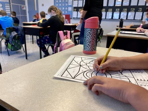 The P.E.I. Teachers' Federation says it's concerned about the back-to-school plan's impact on staff and students, particularly students in kindergarten to Grade 6. (Jane Robertson/CBC - image credit)