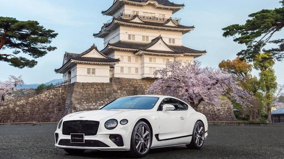 Limited-run Bentley Continental GT V8 Equinox Edition revealed for Japan