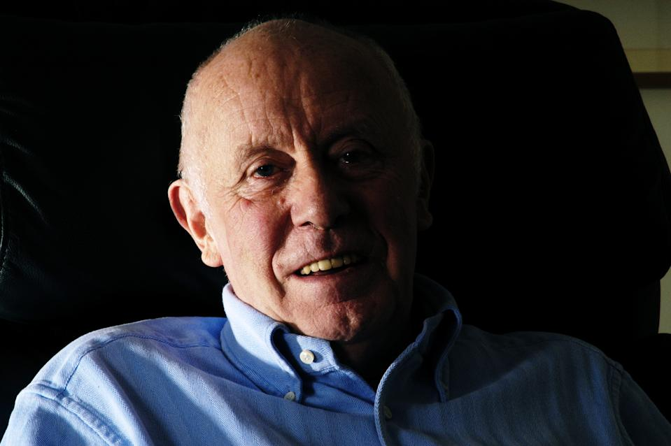 LONDON-DECEMBER 12: Actor Richard Wilson who is best known for playing Victor Meldrew in the TV Sitcom