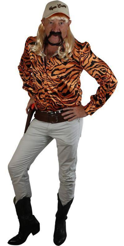 """<p>partycity.com</p><p><strong>$18.74</strong></p><p><a href=""""https://www.partycity.com/adult-tiger-lover-costume-accessory-kit-P909428.html?dwvar_P909428_size=S&cgid=group-costumes-tv-movie"""" rel=""""nofollow noopener"""" target=""""_blank"""" data-ylk=""""slk:Shop Now"""" class=""""link rapid-noclick-resp"""">Shop Now</a></p><p>No introductions necessary. Is this costume already too 2020? Absolutely not.</p>"""