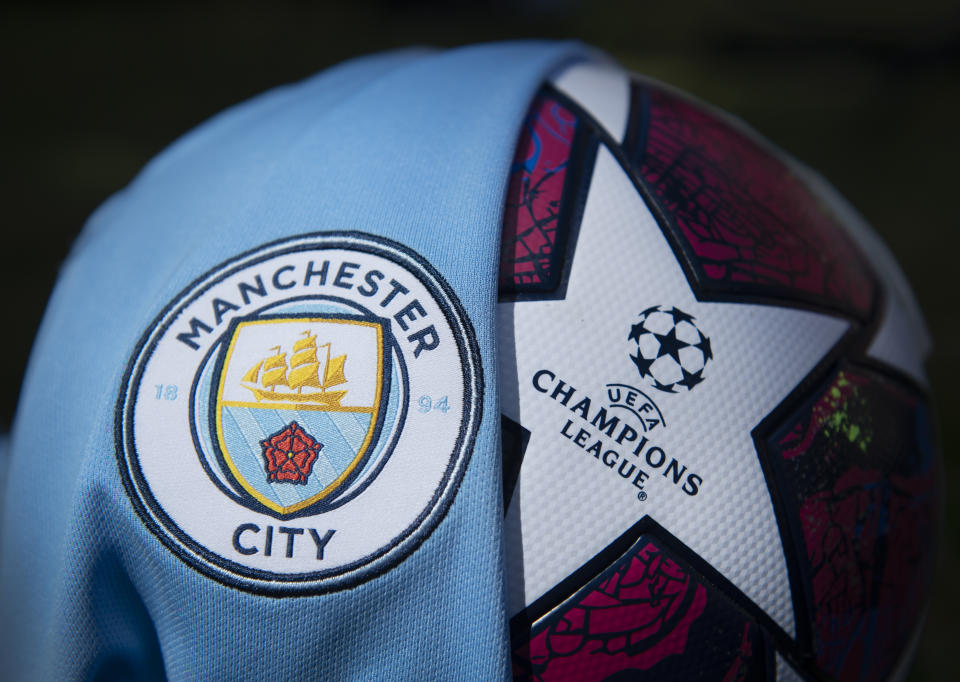 Manchester City will compete in the Champions League next season. (Photo by Visionhaus)