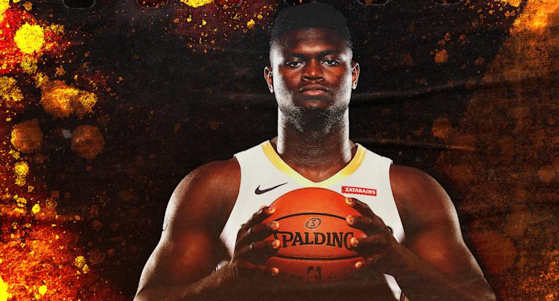 Zion Williamson's here. (Illustration by Paul Rosales)