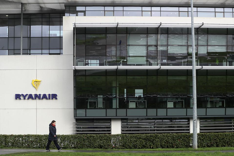 The Ryanair headquarters at Airside Business Park in Swords, Dublin