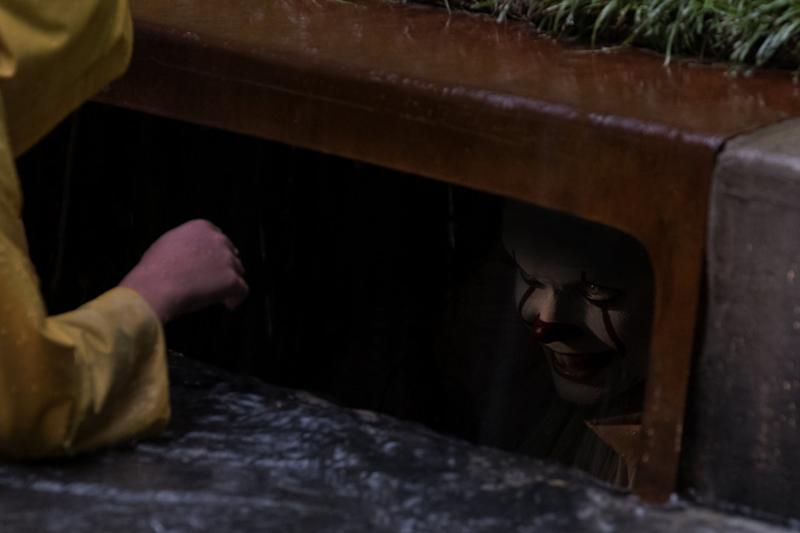 Nightmares ahoy! Bill Skarsgård in 'It' (credit: New Line Cinema)