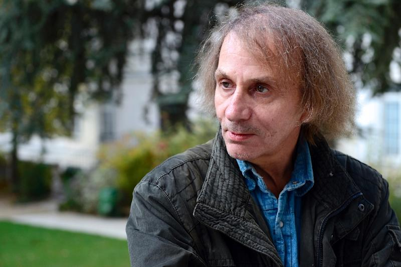 French writer Michel Houellebecq on November 5, 2014 in Paris (AFP Photo/Miguel Medina)