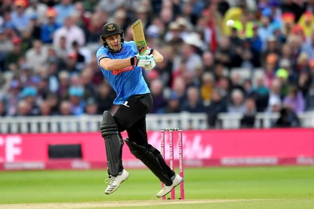 Luke Wright, in action for Sussex Sharks, played more than 100 games for England (Anthony Devlin/PA)