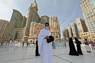 The hajj, usually one of the world's largest annual religious gatherings, is one of the five pillars of Islam and must be undertaken by all Muslims with the means at least once in their lives
