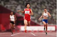 <p>Another world record smashed, this time by the PR China's WEN Xiaoyan who sailed to victory in the women's 100m T37 final with a time of 13.0 seconds.</p>