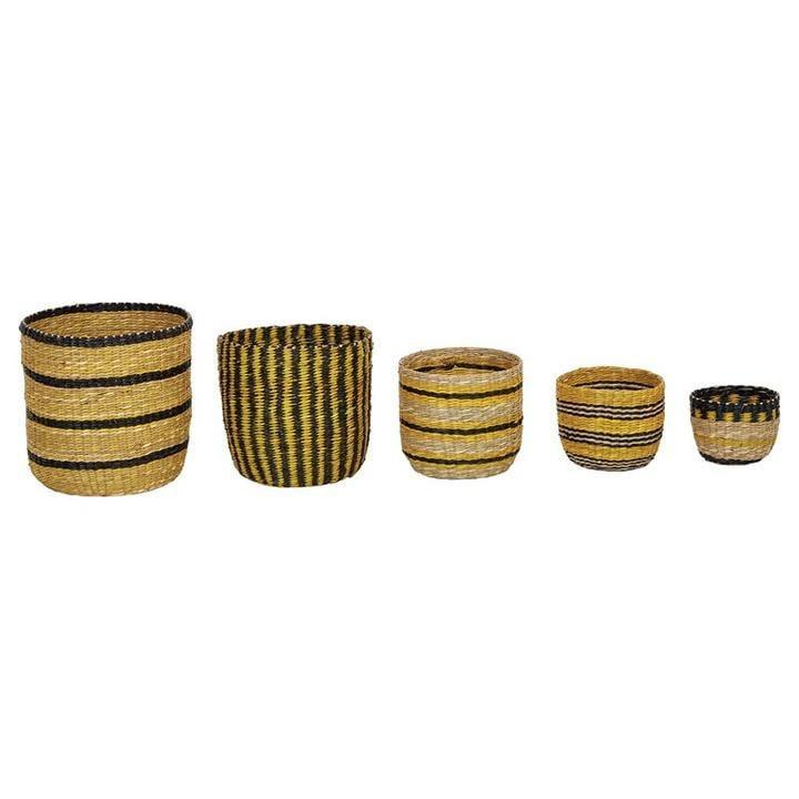 """<p>You can never have enough storage solutions and the <a href=""""https://www.popsugar.com/buy/Yellow-Black-Seagrass-Basket-582471?p_name=Yellow%20and%20Black%20Seagrass%20Basket&retailer=effortlesscomposition.com&pid=582471&price=24&evar1=casa%3Aus&evar9=47553754&evar98=https%3A%2F%2Fwww.popsugar.com%2Fhome%2Fphoto-gallery%2F47553754%2Fimage%2F47553837%2FYellow-Black-Seagrass-Basket&list1=shopping%2Chome%20decorating%2Chome%20shopping&prop13=api&pdata=1"""" class=""""link rapid-noclick-resp"""" rel=""""nofollow noopener"""" target=""""_blank"""" data-ylk=""""slk:Yellow and Black Seagrass Basket"""">Yellow and Black Seagrass Basket</a> ($24) comes in various sizes and designs.</p>"""