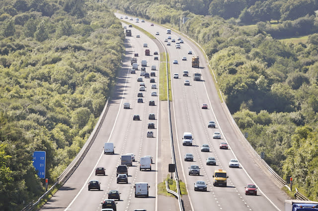 File photo dated 16/08/13 of drivers on a motorway, as Chancellor Phillip Hammond will deliver his budget later today.