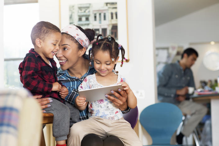 Help your children understand the importance of not sharing personal information and keeping passwords safe. (Photo: Getty)