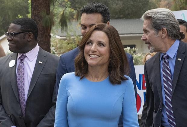 Julia Louis-Dreyfus' Selina Mayer Delivers A President's Day Address