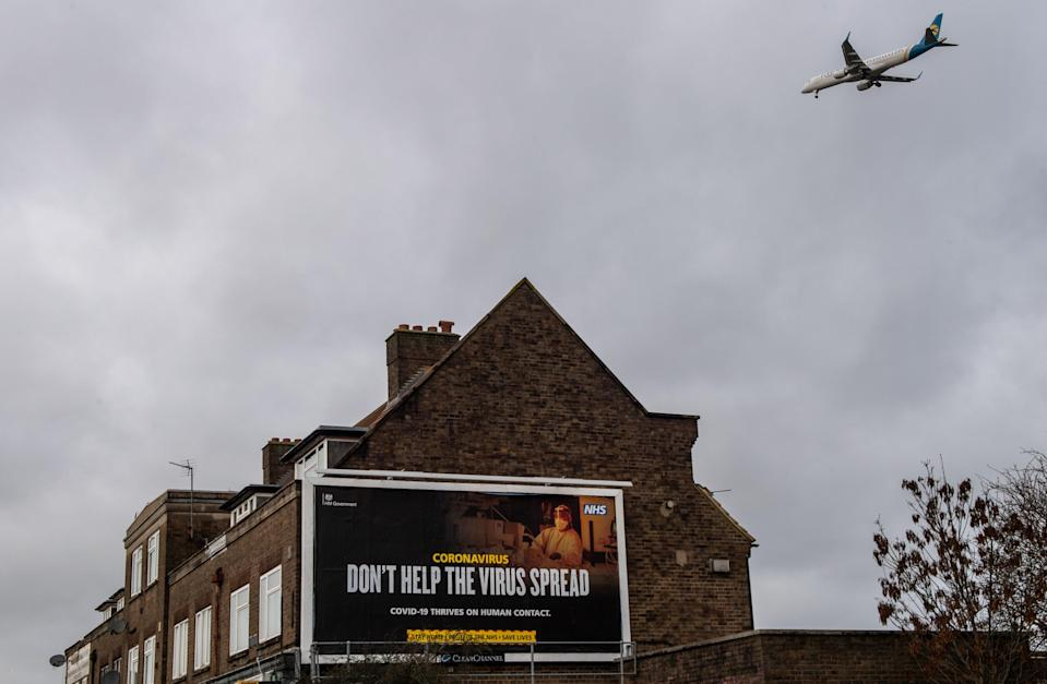 <p>Arrivals from amber-list countries should not be able to use public transport to travel home for quarantine without being tested at the airport, as they do under the current scheme, says Yvette Cooper</p> (Getty)