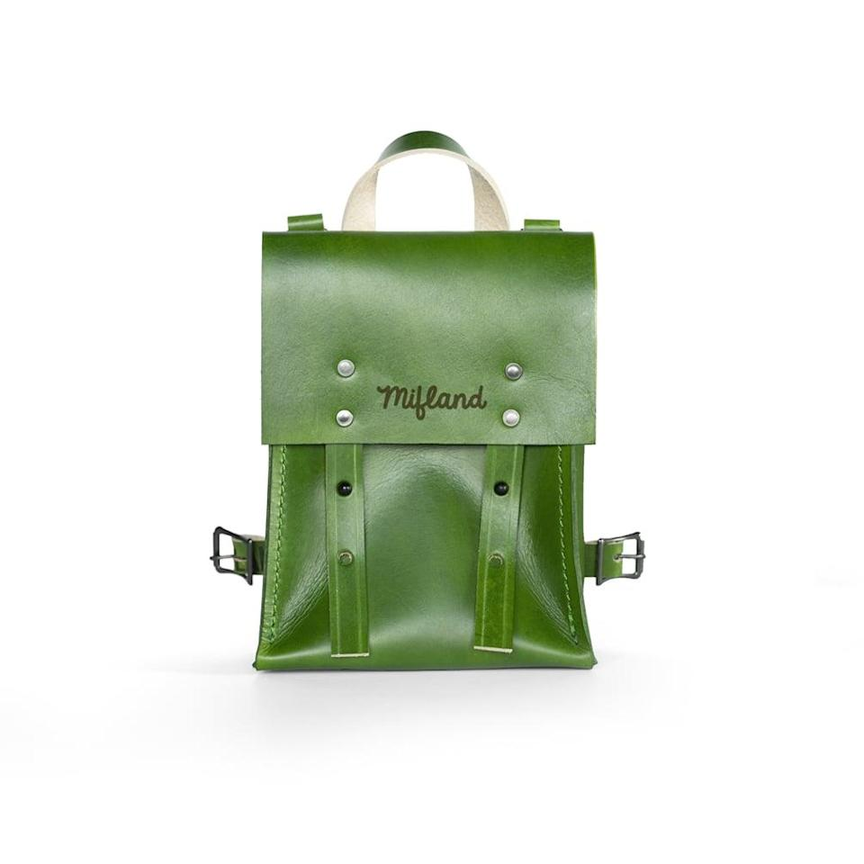 <p>This stunning and durable <span>Milfand Bedford Bag</span> ($310) can be styled in so many ways. </p>