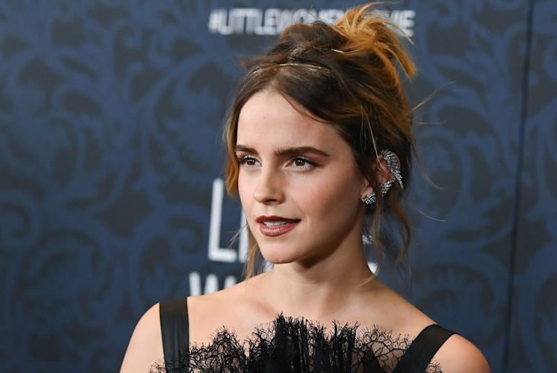 Emma Watson, pictured at the NYC premiere for Little Woman in December 2019, celebrates her 30th birthday on 15 April 2020. (Getty Images)