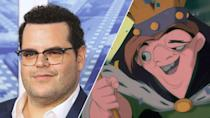"<p>Disney favourite Josh Gad <a href=""https://uk.movies.yahoo.com/hunchback-notre-dame-live-action-184922706.html"" data-ylk=""slk:is set to produce;outcm:mb_qualified_link;_E:mb_qualified_link;ct:story;"" class=""link rapid-noclick-resp yahoo-link"">is set to produce</a> this live action remake of the 1996 animated film, but it's not clear if he's taking the lead role too. Tony-winning playwright David Henry Hwang, who wrote Disney's <i>Tarzan</i> stage musical, is on scripting duties, and Alan Menken and Stephen Schwartz – who wrote songs for the original – will return. </p>"
