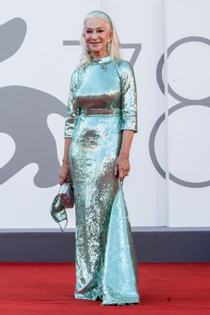 <p>The actor wore a mermaid-like sequin gown by Dolce & Gabbana to the red carpet for 'Madres Paralelas'.</p>