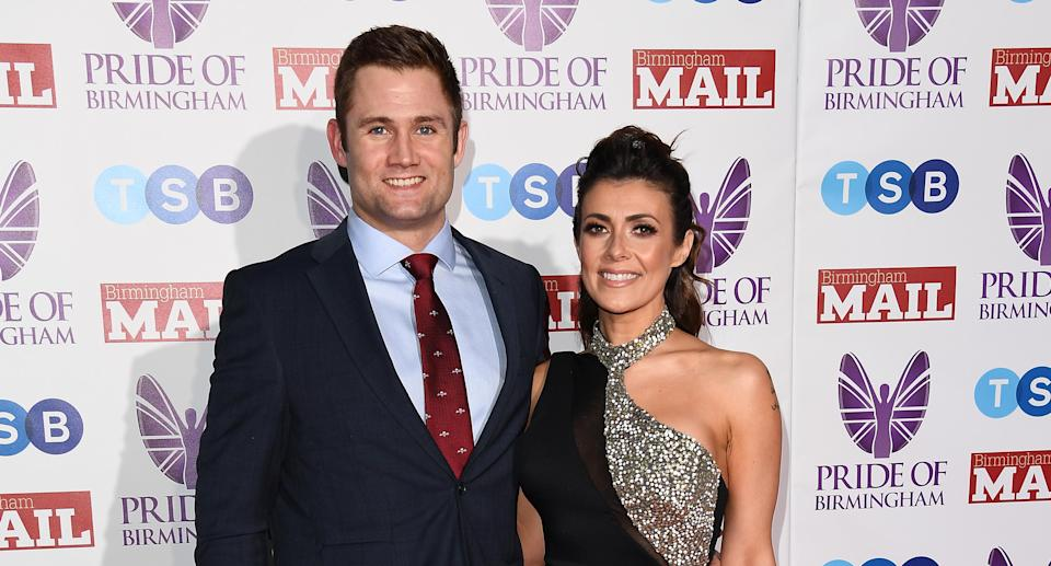 Kym Marsh and Scott Ratcliff are set to tie the knot. (Photo by Jeff Spicer/Getty Images)