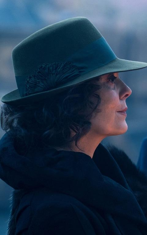 Aunt Polly (Helen McCrory)supported her old flame Aberama - Credit: Matt Squire