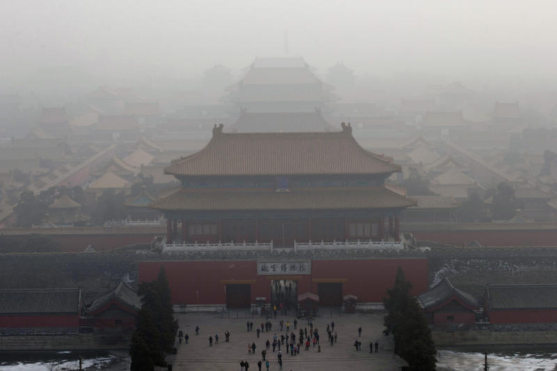 Air pollution takes toll on China's tourism