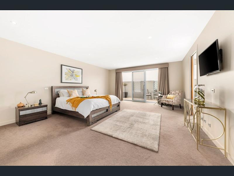 The home comes with five bedrooms. Image: Ray White