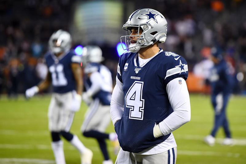 Jerry 'not anxious  about' Prescott's shoulder injury