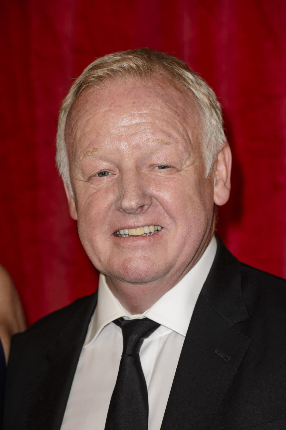 Les Dennis attending the British Soap Awards 2016 at the Hackney Empire, 291 Mare St, London. PRESS ASSOCIATION Photo. Picture date: Saturday May 28, 2016. See PA Story SHOWBIZ Soap. Photo credit should read: Matt Crossick/PA Wire