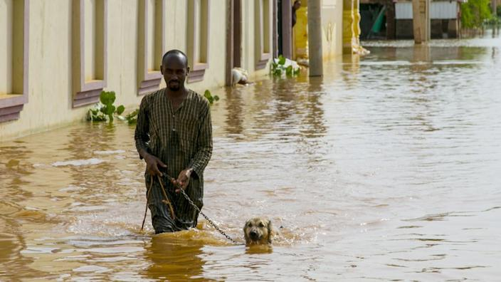 ... countrywide, floods have killed nearly 100 people and made thousands homeless.