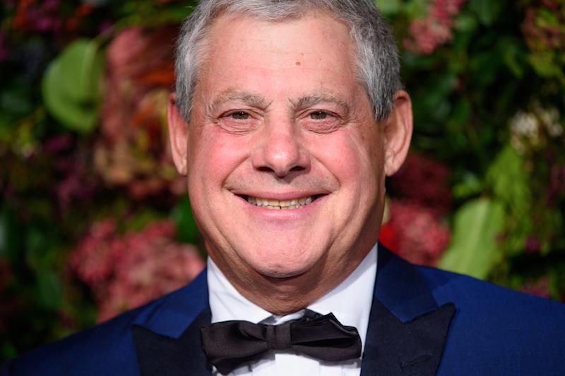 Cameron Mackintosh attending the Evening Standard Theatre Awards 2018 at the Theatre Royal, Drury Lane in Covent Garden, London. EDITORIAL USE ONLY. Picture date: Sunday November 18th, 2018. Photo credit should read: Matt Crossick/ EMPICS Entertainment.