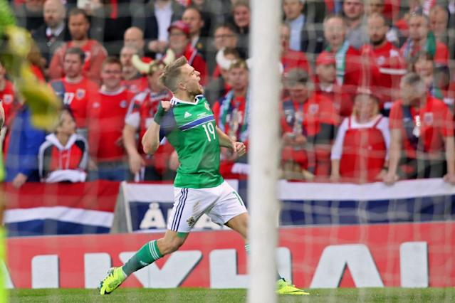 Jamie Ward got Northern Ireland off to a perfect start (Getty)