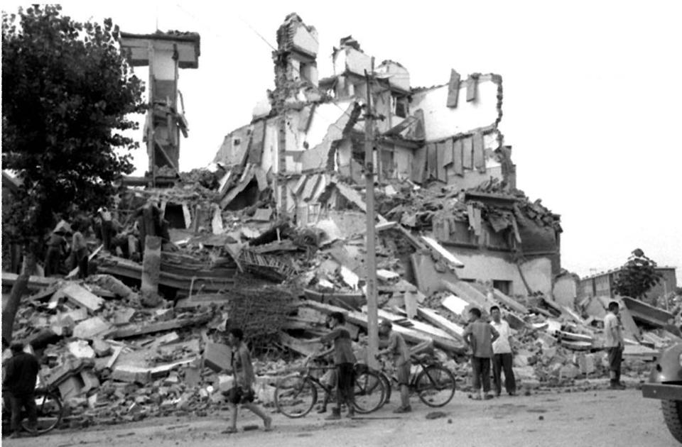 In July, 1976 the city of Tangshan, less than 200km (124 miles) south of Beijing, was destroyed in the second deadliest earthquake of the 20th century. Photo: AFP