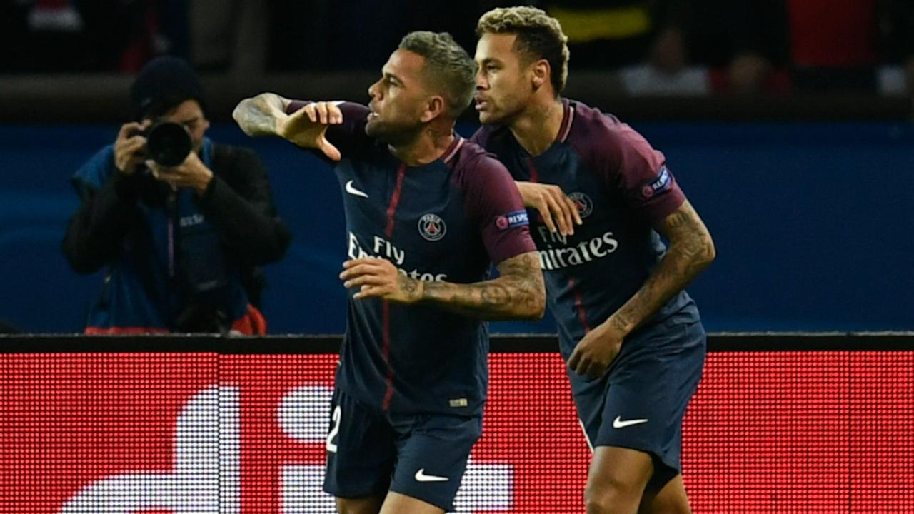 The PSG defender denied favoritism towards his Brazil international team-mate over Edinson Cavani and insisted his only goal is to win