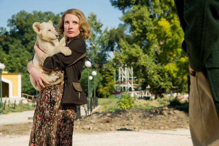 Jessica Chastain in 'The Zookeeper's Wife.'