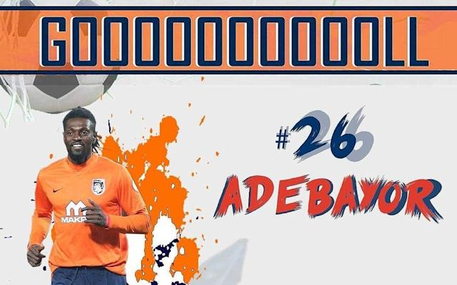 Emmanuel Adebayor joined Basaksehir earlier this year
