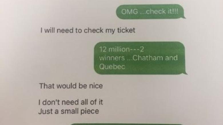 Ex-boyfriend claims $3M half of lotto prize, while remainder in dispute