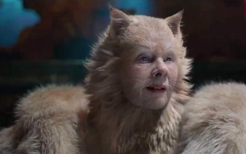 Stuff of nightmares: Dame Judi Dench as Old Deuteronomy in Cats