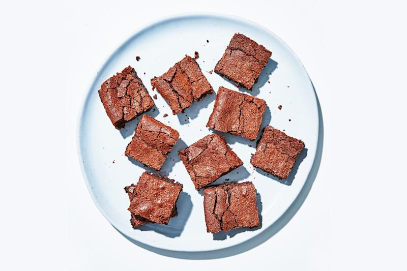 BA's Best Brownies are peak soft and chewy.