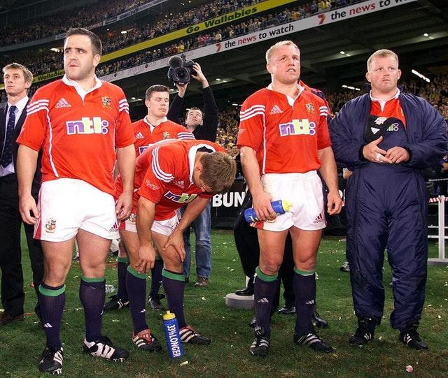 Smith (left) made six Test appearances for the British and Irish Lions