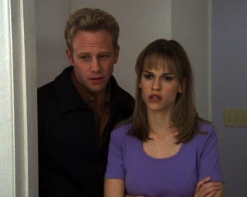 <p>You can actually catch Hilary Swank in a few different '90s TV shows, like <em>Growing Pains</em> and <em>Evening Shade</em>. She got a bigger break when she nabbed a regular role on <em>Beverly Hills 90210</em>, where she played Zach's mom Carly Reynolds. Hilary lasted for 13 episodes before getting fired. Only a few months later, she was in <em>Boys Don't Cry</em>, which got her two Academy Awards, so.... she ended up winning.<br></p>