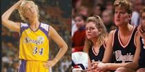 <p>Identical twins Heather and Heidi Burge are both 6-foot-five-inches tall, which at least partly explains why both of them became successful professional basketball players. </p>