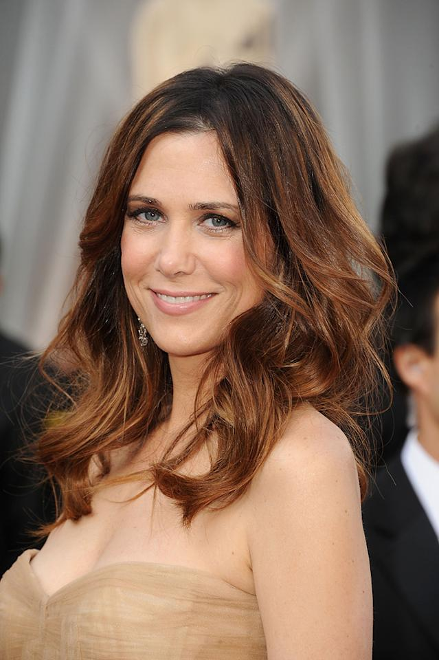 Kristen Wiig arrives at the 84th Annual Academy Awards in Hollywood, CA.