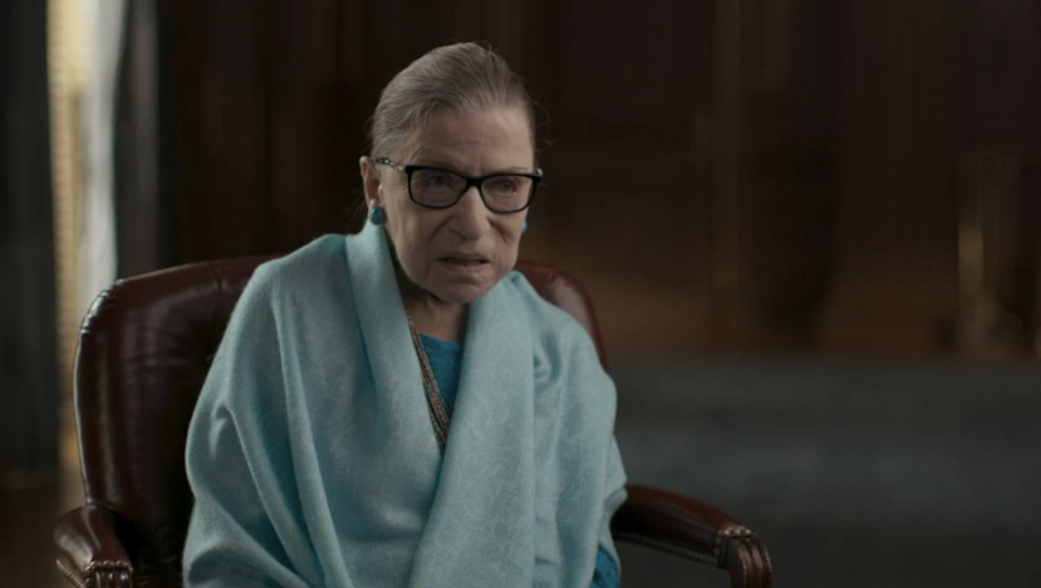Supreme Court Justice Ruth Bader Ginsburg - Credit: Amazon Prime