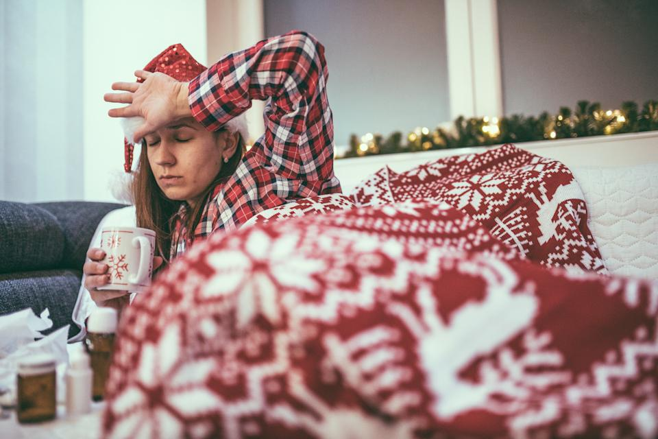 The festive period is upon us, but how can we stop ourselves from getting burnout? [Photo: Getty]