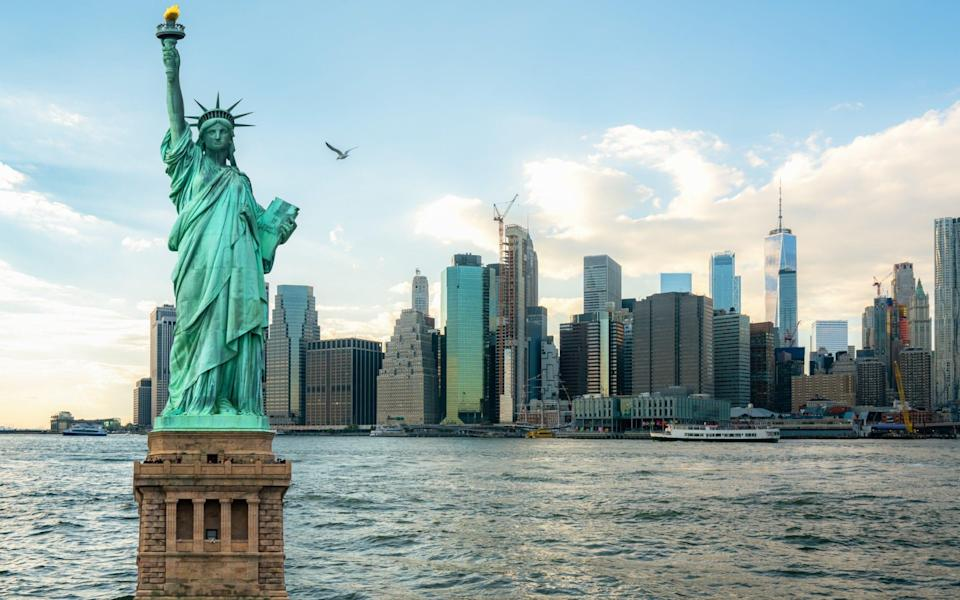 Statue of Liberty facts things you didnt know - Getty