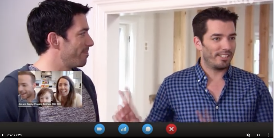 Photo credit: Youtube / Property Brothers