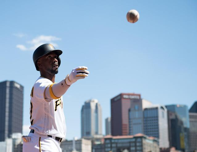 Twenty-seven days in 27 games for Andrew McCutchen and the Pirates. (Getty)