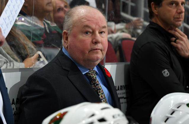 Bruce Boudreau has been with the Wild since 2016-17. (Getty Images)